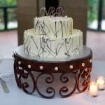 Cake stand square