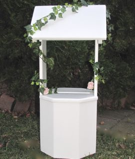 White Timber Wishing Well Events2celebrate Wedding