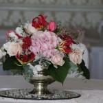 Silver rose bowl image 2
