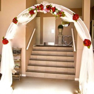 Wedding arch decorated IMG_0367