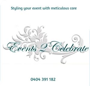 Events2Celebrate - Wedding planning, styling & event hire Newcastle