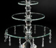 Crystal 3-Tier Cupcake Stand