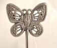 Silver Butterfly Table Number Holder
