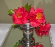 Silver Rose Bowls