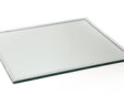 Square Mirror Plate with Diamante Edging